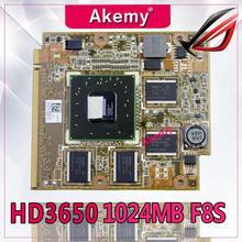 Akemy мобильность Radeon HD3650 (NKZVG2000) ,DDR2 1024MB MXMII 128Bit VGA карта для For Asus F8VA F8SP