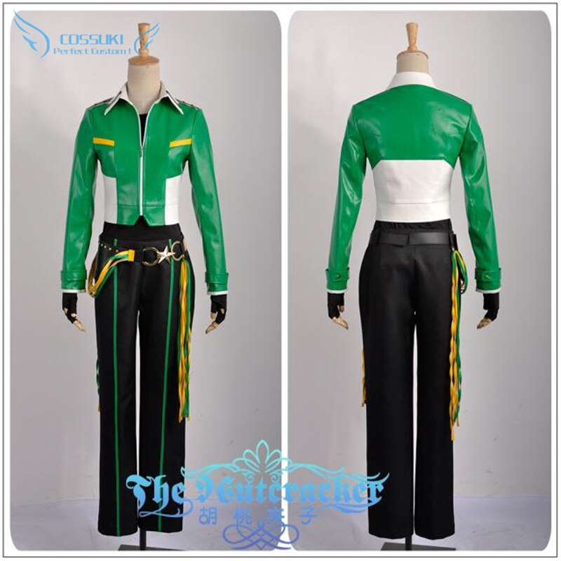 Ensemble Stars Ryuseitai Midori Takamine Stage Uniform Cosplay Costume , Perfect Custom For You !