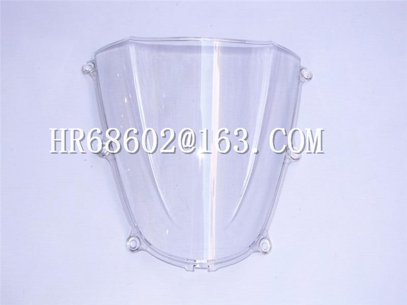 HotSale Für Honda CBR 600 F5 2005 2006 cbr 600 f5 05 06 Weiße Windschutzscheibe Windschutz Double Bubble CBR600 cbr600 CBR600RR rr RR