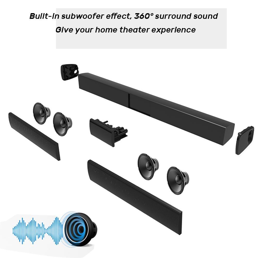 TWISTER.CK Multipurpose Wireless Stereo Surrounding Sound Speaker Family Bluetooth Speaker enlarge