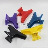 1000pcslot butterfly holding hair claw section styling tools hair clip clamps hairpins pro salon fix hair hairdressing tool