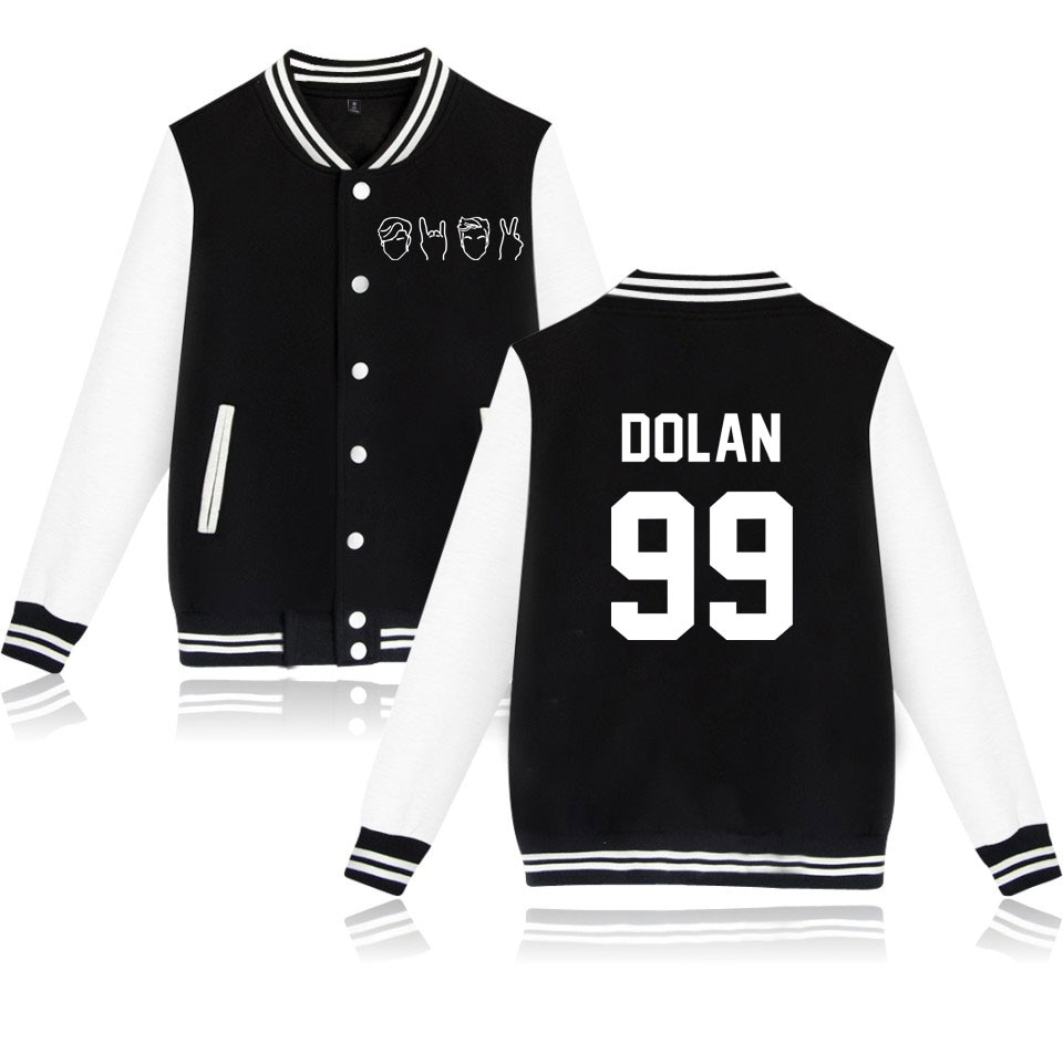 Dolan Twins Baseball Jacket Coat 4 Colors Autumn Winter Hoodies Sweashirt Harajuku Plus Size Tracksuit Clothes Moletom Masculino