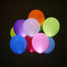 Ballons lumineux en boules 30 pièces   Ballons décoratifs pour Halloween noël, fournitures de ballons pour fête danniversaire et mariage
