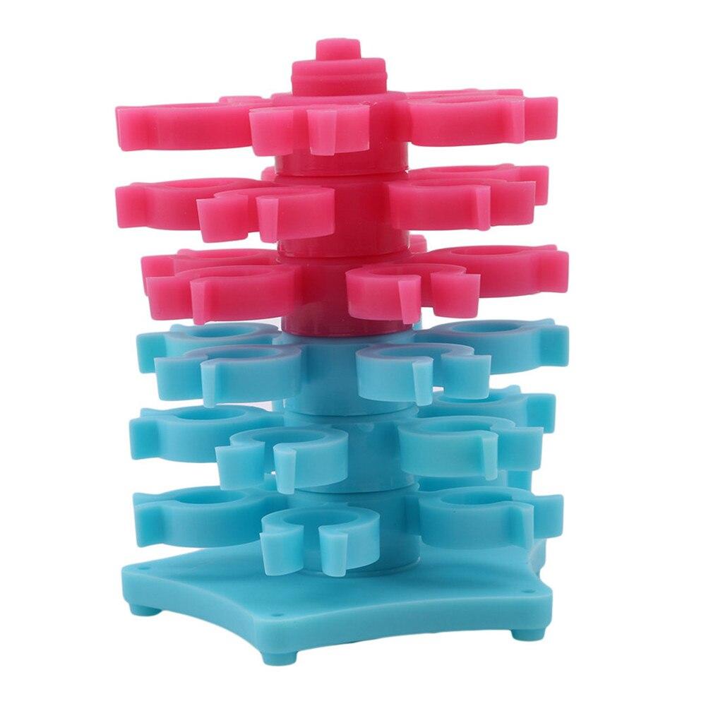 Ellenmar bordado bobinas torre de almacenamiento para bobinas herramienta de costura bobina ciudad caso accesorios de coser 30 piezas bobinas