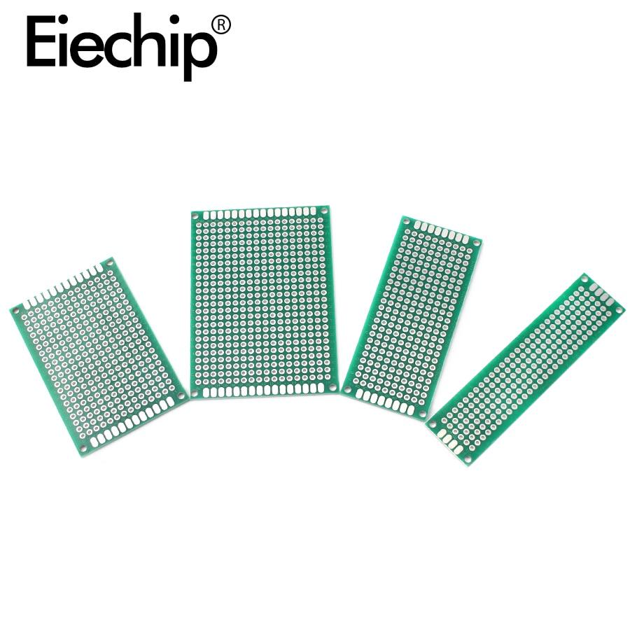 PCB doppelseitige 5x7 4x6 3x7 2x8 Prototyp PCB Universal Print Circuit board PCB löten bord Protoboard Für Arduino diy kit