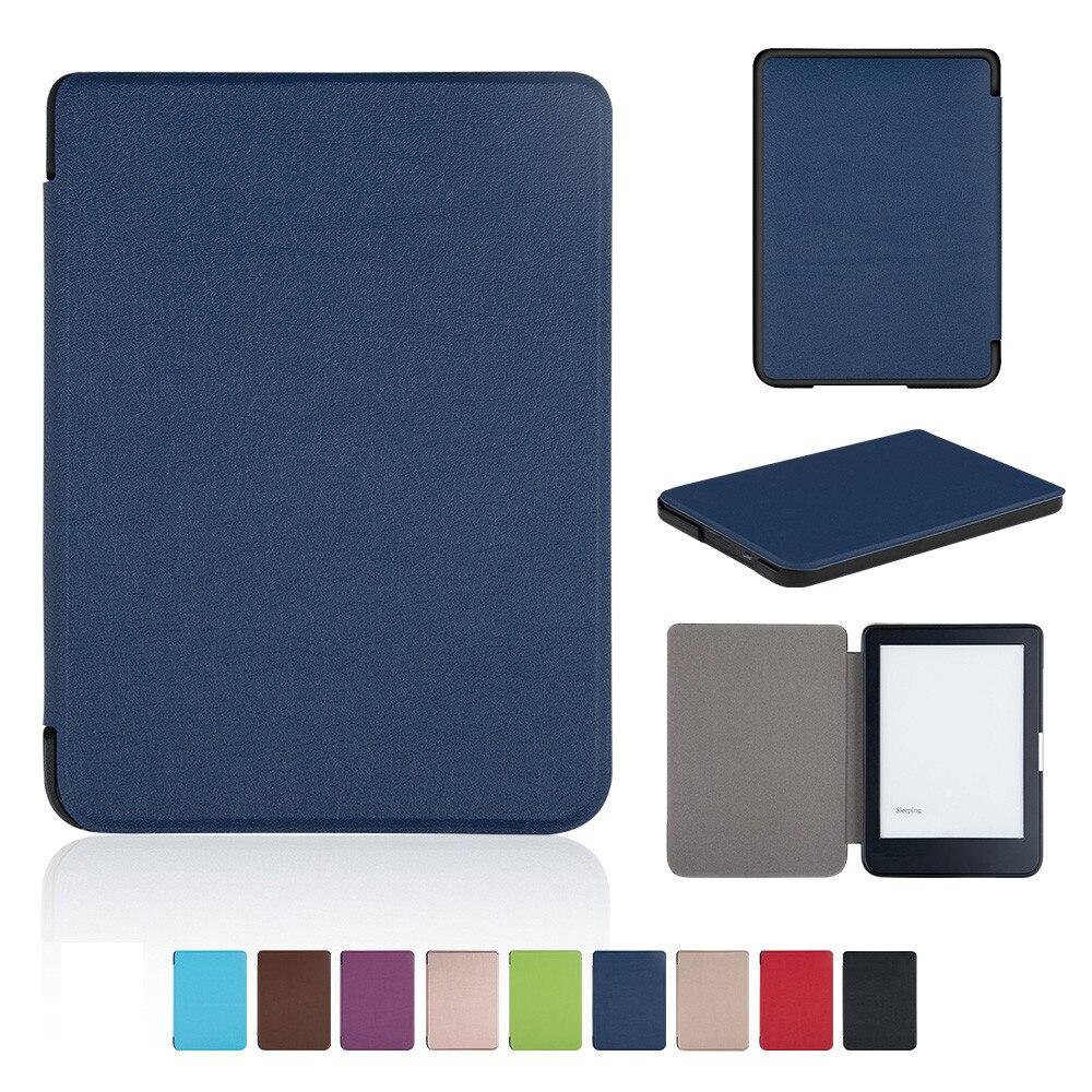 Cubierta para KOBO CLARA HD 6 pulgadas tabletas e-libros tablet kindle caso de Folio caso, caso de la tableta de envío de la gota 0110 #2