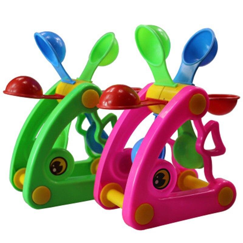 1 Uds., bonito molino de agua, rueda de agua, juego de verano, arena, juguetes de agua, piscina, baño, fiesta, juego de niños, juguete de baño de Color al azar