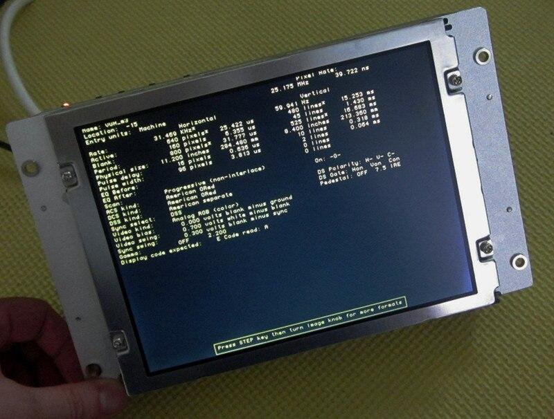 FCUA-CT100 متوافق LCD عرض 9 بوصة ل M500 M520 CNC نظام CRT رصد ، دينا في المخزون