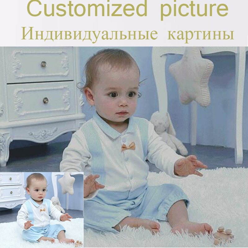 Grandes fotos do bebê 5d diy pintura diamante vida fotos personalizado strass imagem diamante mosaico venda diamante bordado conjunto completo