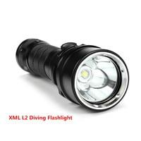 Waterproof 3000 lumens XML L2 LED lamp Diving Flashlight Underwater lamp Scuba Diving Lamp