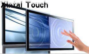 Xintai Touch عرض خاص! إطار لوحة شاشة تعمل باللمس بالأشعة تحت الحمراء مقاس 46 بوصة ، مع 4 نقاط لمس