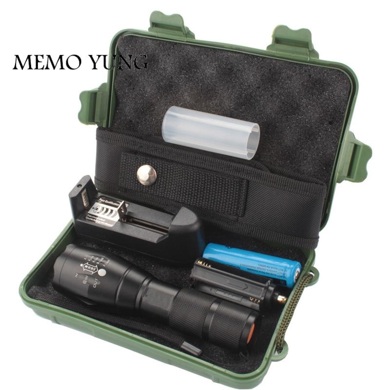 3800LM Lanterna CREE XML T6 тактический фонарь Zoom Linternas светодиодный портативный фонарик для кемпинга на 18650 перезаряжаемой батарее