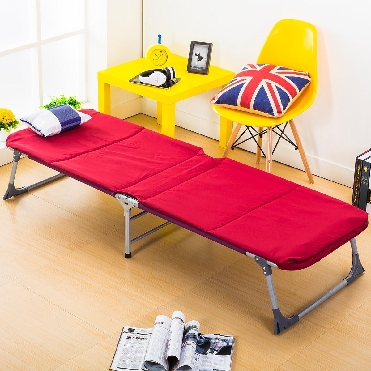 Nueva llegada plegable Simple cama mediodía romper uso doméstico, ocio Oficina mintiendo cama de playa al aire libre balcón sillas de sol