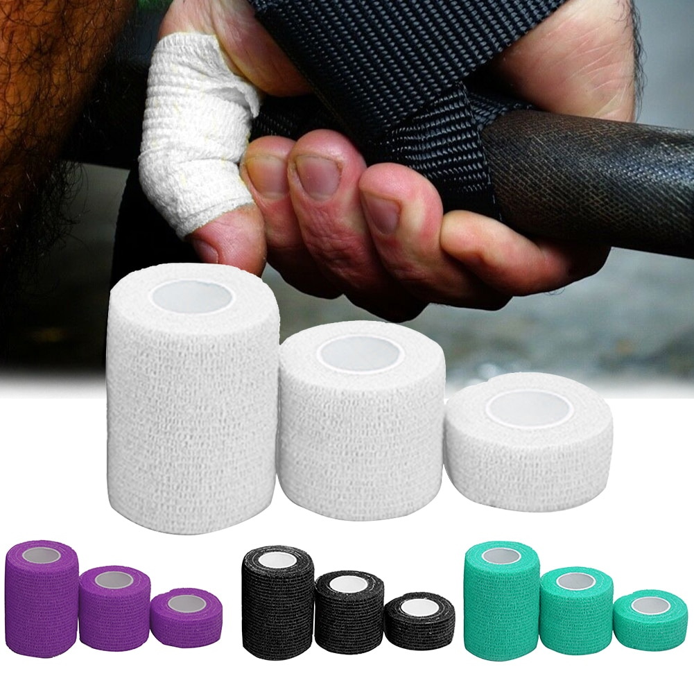 3pcs Self Adhesive Injury Sports Tape Finger Pain Relief Protection Muscles Athletic Weightlifting B