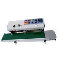 horizontal automatic plastic big bag sealing machine with ink coding machine