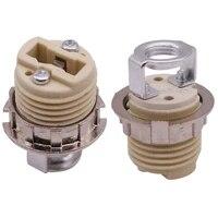 Homekit     support de lampe special en ceramique G9  25 pieces  35mm de hauteur  filetage 21mm de diametre
