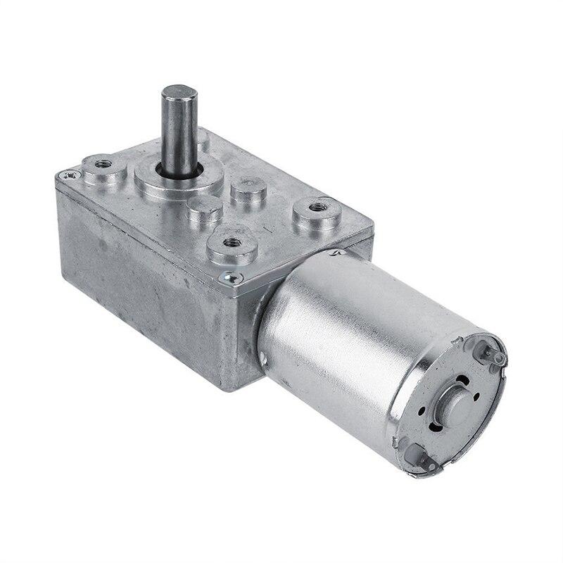 Moteur électrique réduction dengrenages 12V cc   Mayitr ver réversible à haute couple 10KG.CM Turbo Micro moteurs à engrenages 2-100 tr/min