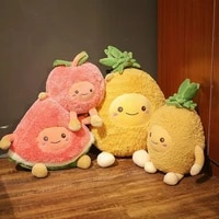 plush toy apple pineapple watermelon doll pillow simulation fruit doll birthday gift girl