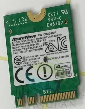 Tarjeta adaptadora inalámbrica para AzureWave AW-CB209NF RTL8821AE RTL8821AENF 433Mbps BlueTooth4.0 AC NGFF tarjeta WIFI