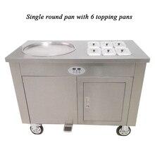 450mm großen pan thai gebraten eis maschine/rühren braten eis maschine