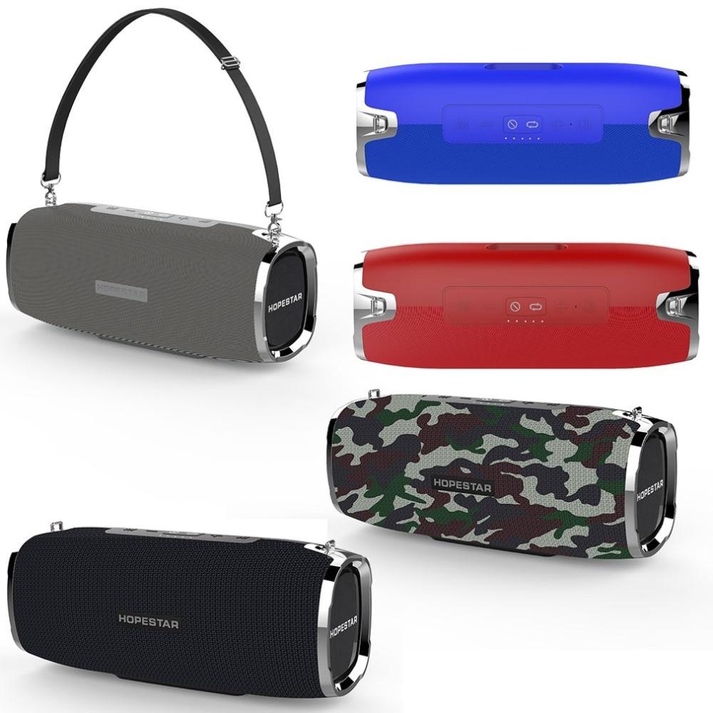 Altavoz Bluetooth HOPESTAR A6, altavoz inalámbrico portátil, sistema de sonido estéreo 3D, altavoz impermeable para exteriores
