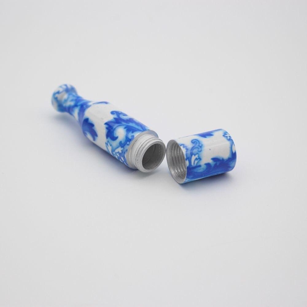 Tuyau métallique de Style spécial de chine   Mini Tube en céramique de tabac et de Cigarette 1 pièce