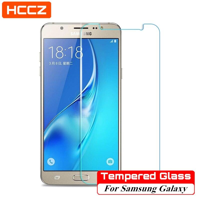 HCCZ-Protector de pantalla de vidrio templado para móvil, película protectora para Samsung...