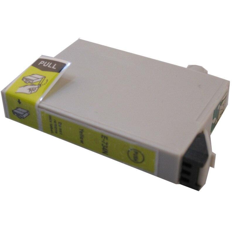 T0734N yellow compatible ink cartridge for EPSON Stylus CX5600 CX5900 CX6900F CX7300 CX7310 CX8300 CX9300F T13 TX121 T10