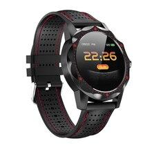 SKY1 montre intelligente Fitness Tracke bande IP68 étanche nouvelle Smartwatch hommes femmes horloge Bracelet intelligent pour IOS Android téléphone