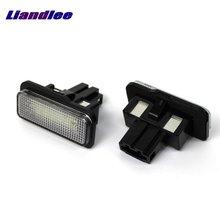 Liandlee-lumière de la plaque dimmatriculation de voiture   Pour Mercedes Benz E classe W211 2002 ~ 2008/, lampe à cadre numérique/feux de bord de qualité supérieure