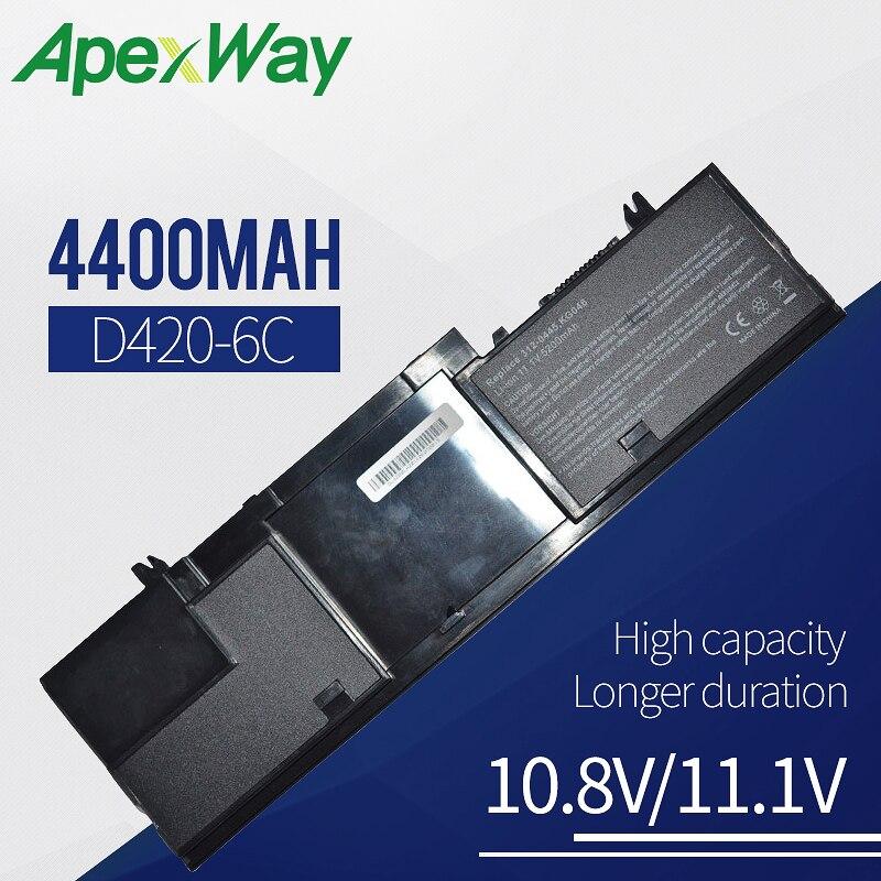 4400mAh batería del ordenador portátil para Dell Latitude D420 D430 12-0443. 312-0445 G172 JG176 JG181 JG768 JG917 KG046 KG126 NG011 NX626 PG043