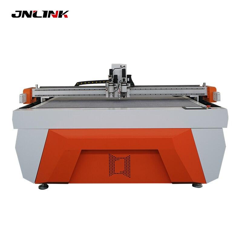 PVC EVA PP y PE máquina de corte de cuchillo vibratorio de alta precisión para materiales de bolsa de corte