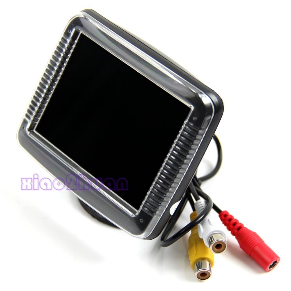Pantalla LCD TFT de 3,5 pulgadas, Monitor, cámara de marcha atrás, vista trasera de coche, respaldo