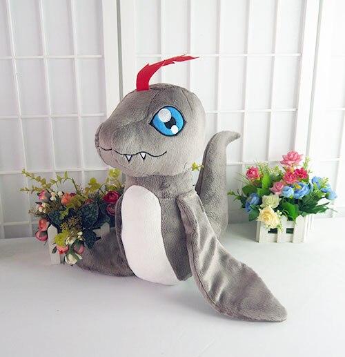 Цифровой Монстр дигимон пукамон 40 см дракон, талисман игрушка Косплей Мягкие и плюшевые Мультяшные куклы