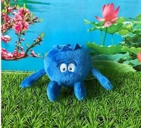new fruits vegetables mini blueberry eggplant carrort plush toy for children birthday gift