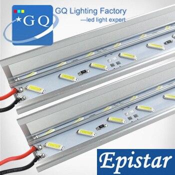 30m/lot 7020 LED Bar Light U / V Groove LED Rigid Strip Bar Light Jewelry lamp DC 12V (instead 5630 LED Tube Hard ) LED Strip
