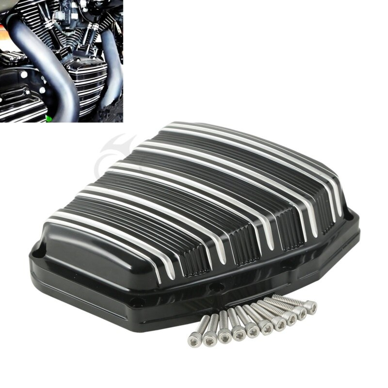 Мотоцикл CNC датчик Cam Крышка для Harley Twin Cam Touring Electra Glide Road King Blackline Breakout Dyna Softail 2001-2017