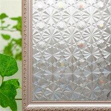Geen Lijm Verdikte Magic Diamond Frosted Glass Window Film, Gekleurd Statische Cling Folies Privacy Window Sticker Voor Home Decoratieve