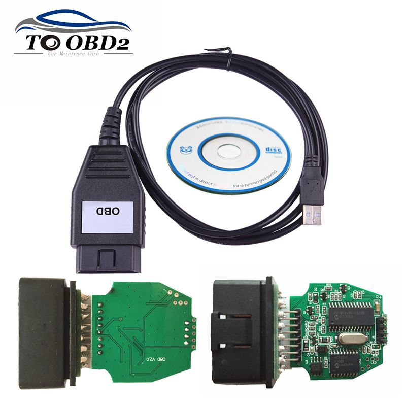 For Ford VCM OBD Diagnostic Interface for FOCOM USB Cable Support Multi-Language For FORD For Mazda Stable Version