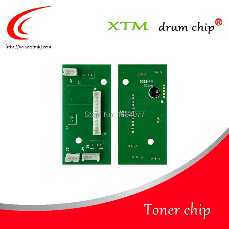 Compatible con Lexmark MS710 MS810 MS811 MS812 MX711 MX810 MX811 MX812 25K 40G4135 cartucho de tóner laserjet chip para contador de tambor