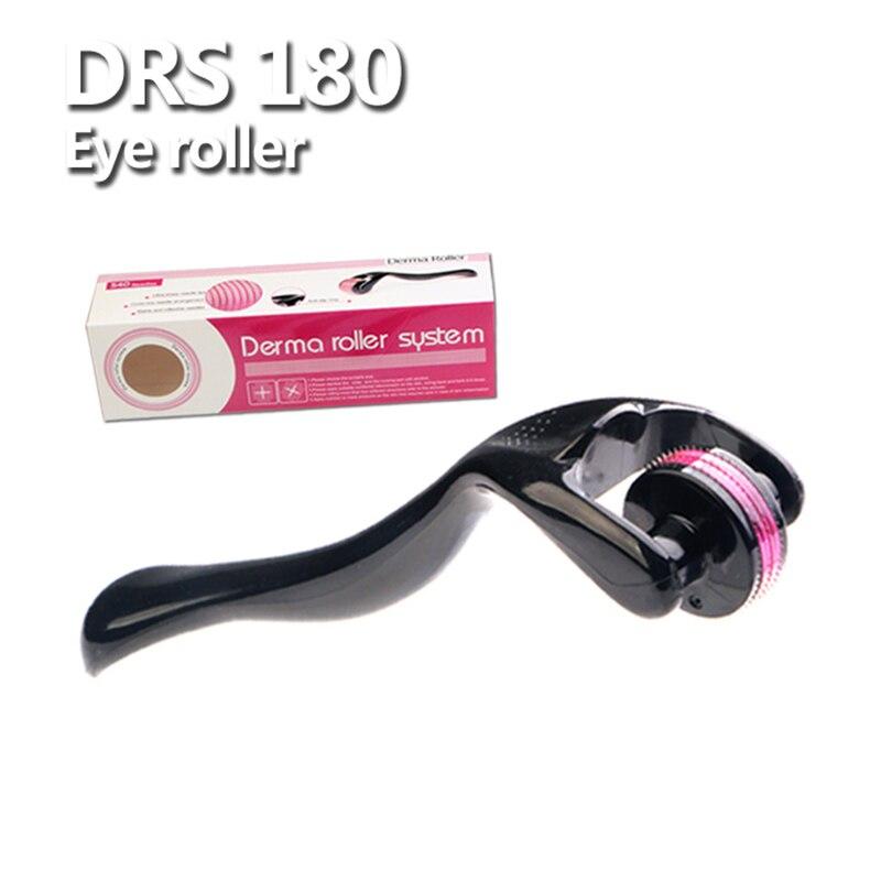 Mejor DermaRoller microaguja para cuerpo y cara Derma Roller para ojos ojeras cuidado de la piel DRS 180 agujas Ues con CE