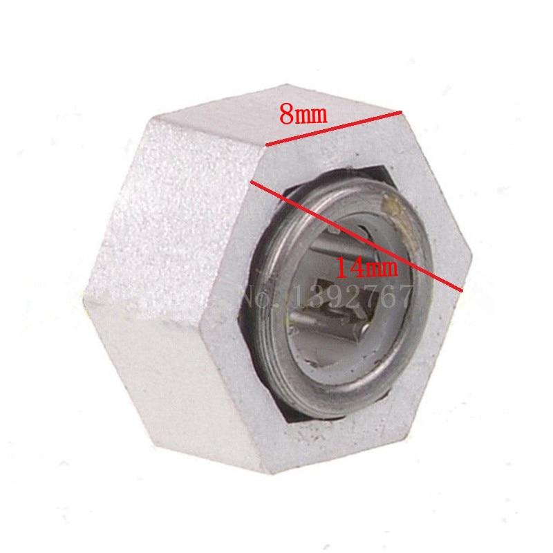 RC Car 1/10 escala modelos coches Buggy una forma hexagonal. Bearing w/Bearing Hex. Tuerca 14mm para HSP 06267 94106 94166
