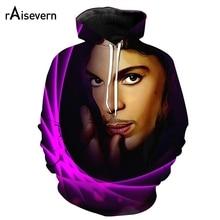 Raisevern Prince Rogers Nelson Printing 3D Hoodie/Sweatshirt/Shirt Men Women Unisex Character Print Hoodies Tops Drop Shipping