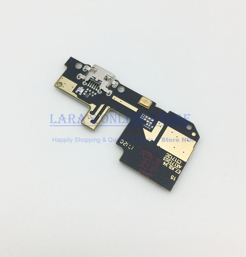 Testado para xiaomi redmi 5/redmi 5 plus usb placa de carga usb porto de carregamento cabo flexível doca conector peças reposição