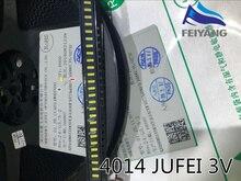 JUFEI 4014 LED 100 pièces rétro-éclairage moyen puissance LED 0.5W 3V 4014 blanc froid LCD rétro-éclairage pour Application TV TV