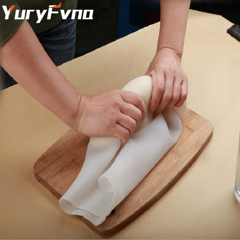 Yuryfvna silicone amassar saco de massa de pão saco de pastelaria massa misturador de massa de farinha de farinha-saco de mistura de silicone premium ferramentas de cozimento