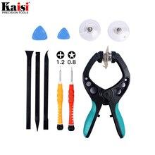Kaisi 10 in 1 Handy Reparatur Tools Kit LCD Screen Eröffnung Zange Schraubenzieher-hebel-werkzeug Zerlegen Werkzeug für iPhone8 7 6s 6 5s 5