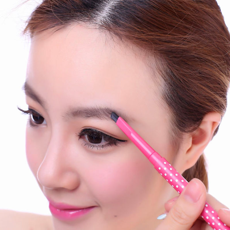 1 pc feminino à prova dwaterproof água lápis de sobrancelha natural de longa duração olho sobrancelha em pó ferramenta de cosméticos ferramenta de maquiagem de beleza dropship venda quente