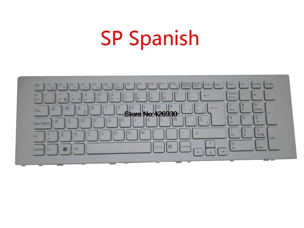 Laptop US UK JP FR SP GR BE teclado para Sony para VAIO VPCEJ VPC-EJ Series Inglés Japonés francés español alemán nuevo