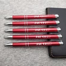 10 couleurs stylo en métal de qualité 20 pièces beaucoup laser graver votre texte et personnaliser tout design/nom/email gratuit pour les petites entreprises promos